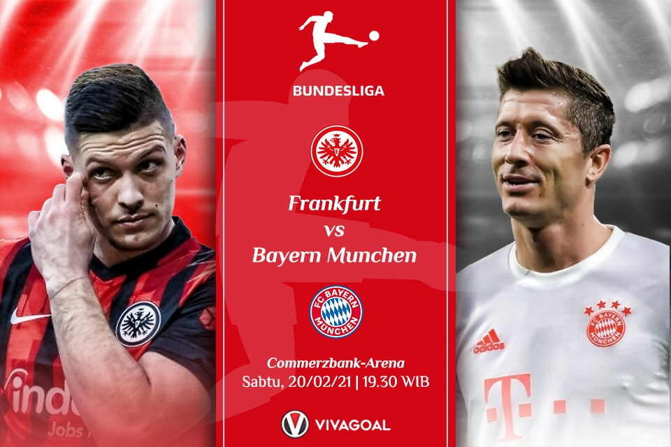 Bayern vs Frankfurt: Siap Sajikan Serangan Terbaik
