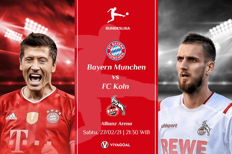 Bayern vs Koln: Misi Jaga Posisi Di Puncak Klasemen