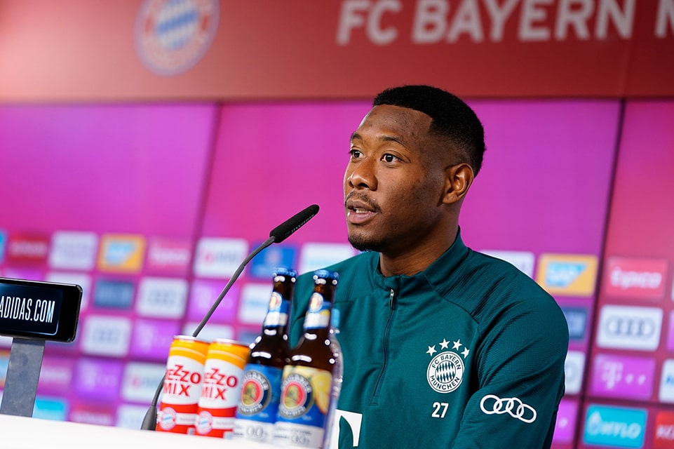 Alaba Buka Suara Soal Kepindahan dari Bayern Muenchen
