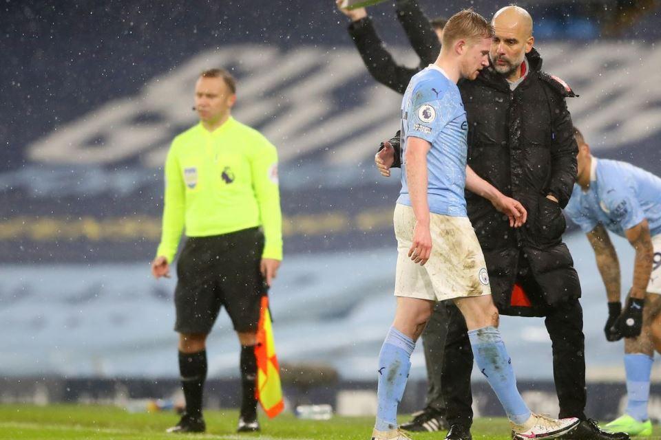 Soal Cedera De Bruyne, Pep Guardiola Beberkan Kabar Positif