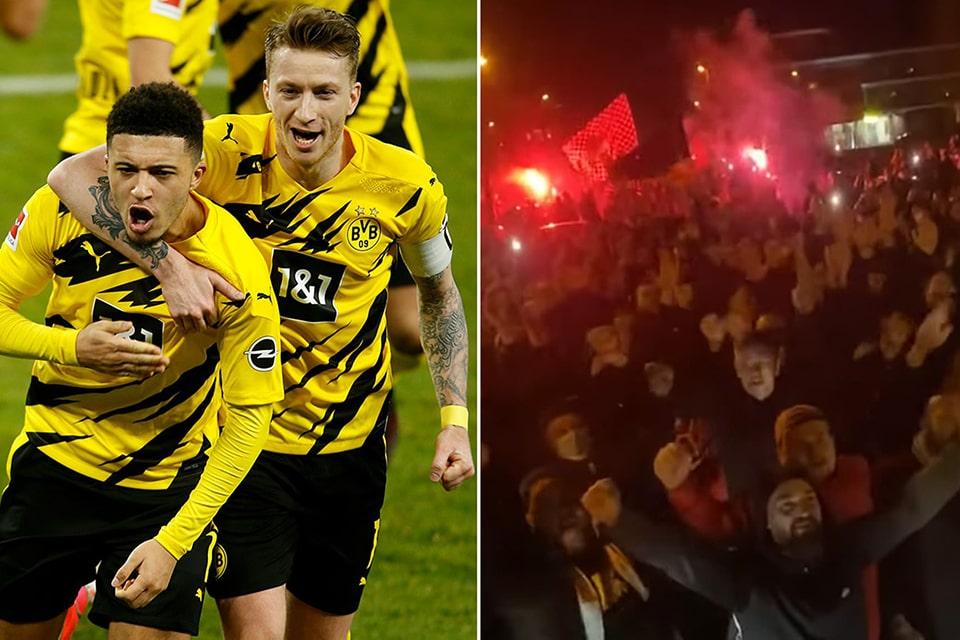 Disambut Ramai Suporter Dortmund Meminta Maaf