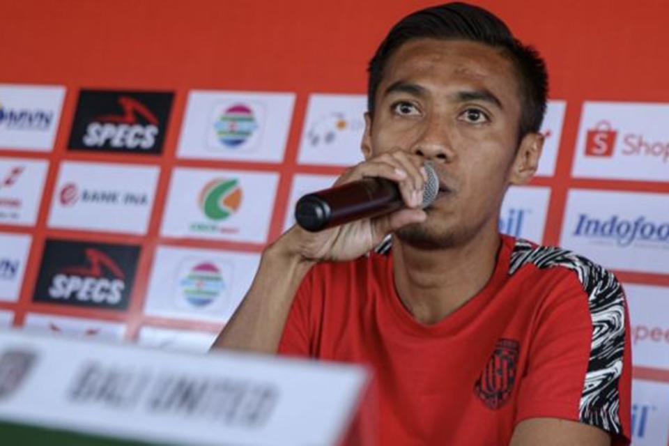 Kapten Bali United Yakin Loloskan Klubnya di Piala AFC