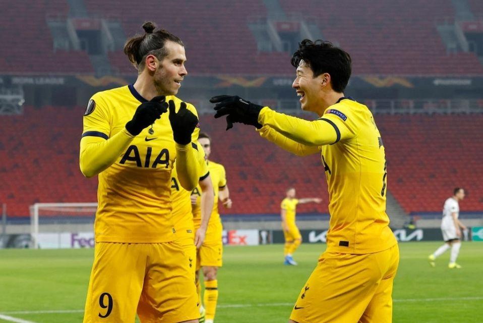 Gareth Bale Son Heung Min