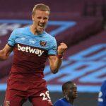 Gelandang West Ham Rayakan Tersingkirnya Leicester Di Liga Europa