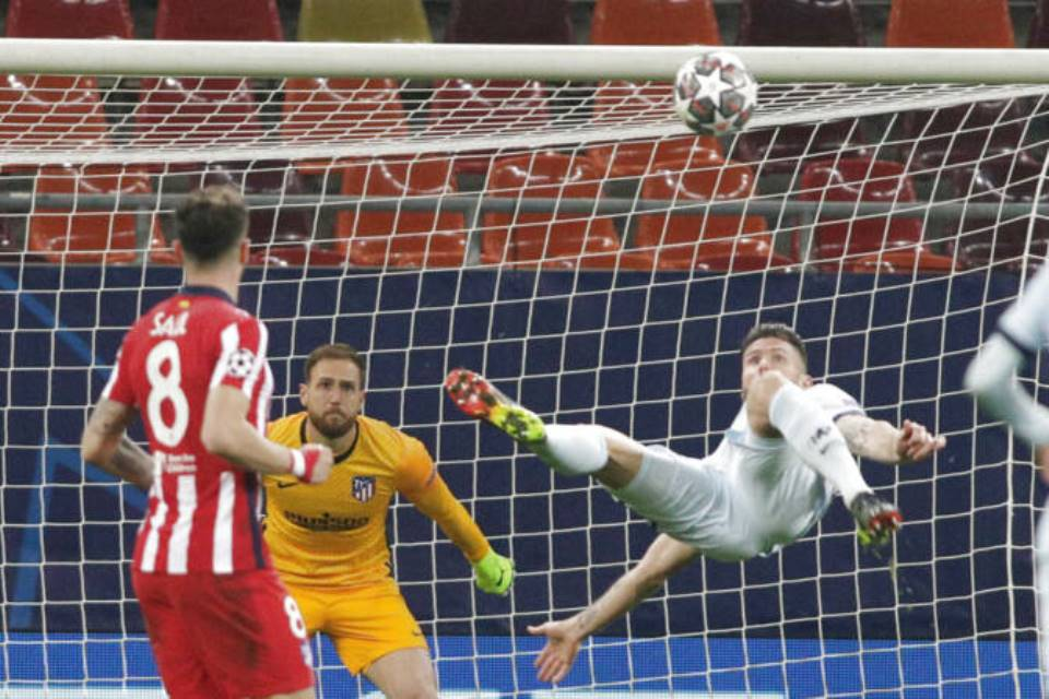 Giroud Tentang Gol Akrobatiknya Ke Gawang Atletico