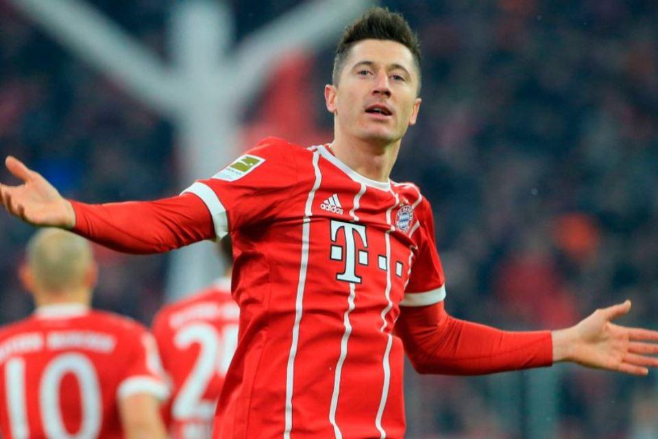 Jelang Lazio vs Bayern, Immobile Puji-Puji Lewandowski
