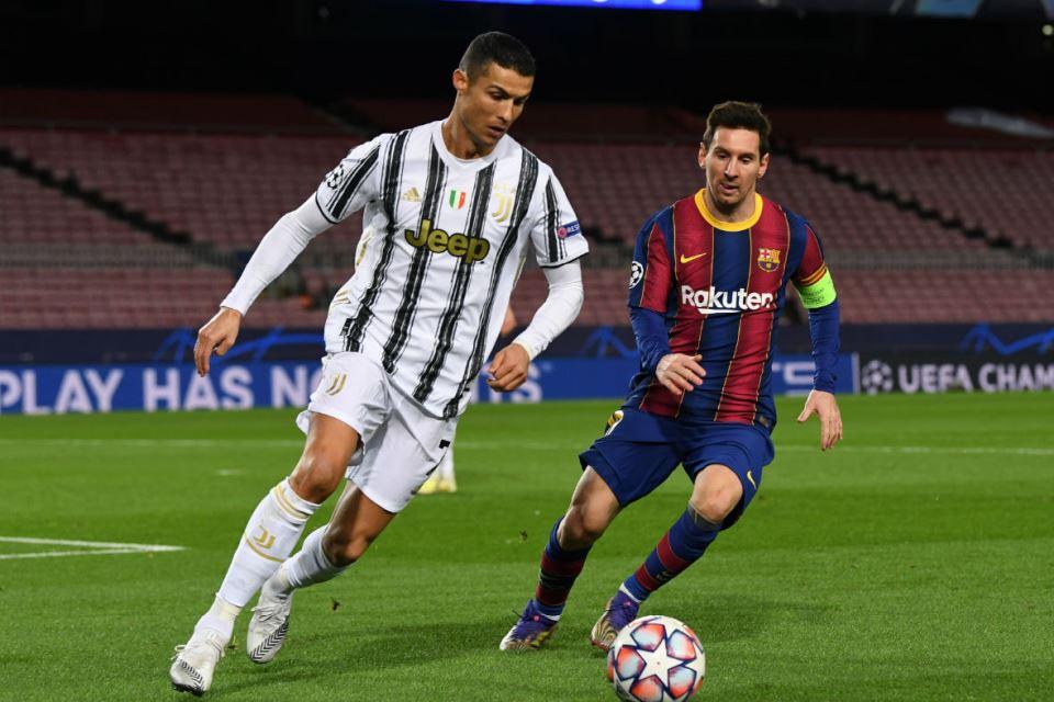 Jumlah Gol Klub Messi dan Ronaldo Masih Kalah dari Eks Barcelona Ini