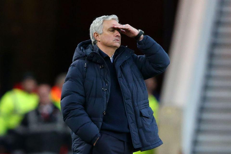 Poin Tottenham Jadi Yang Terendah Dalam Sejarah Kepelatihan Mourinho