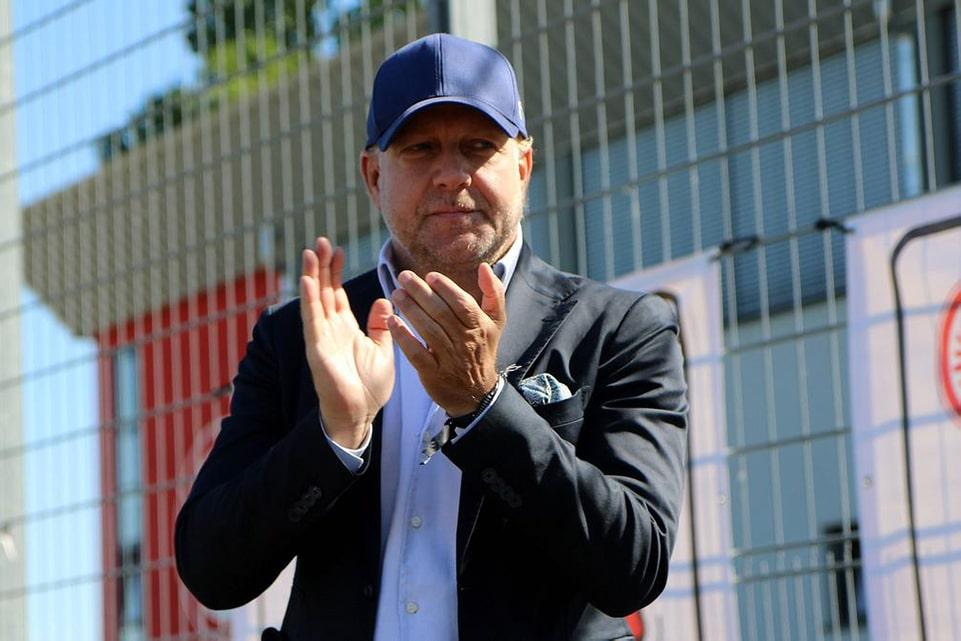 CEO Frankfurt Santai Tanggapi Isu Kepindahan Bobic