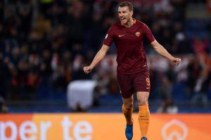 Rekor! Edin Dzeko Jadi Pencetak Gol Terbanyak Roma Di Pentas Eropa