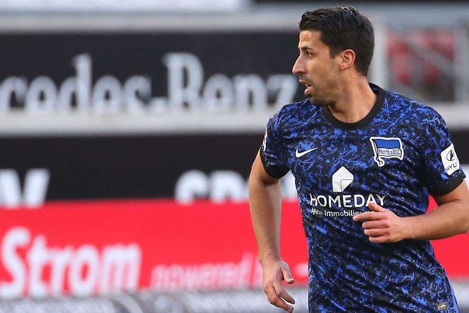 Sami Khedira Masih Belum Masuk Line Up Hertha