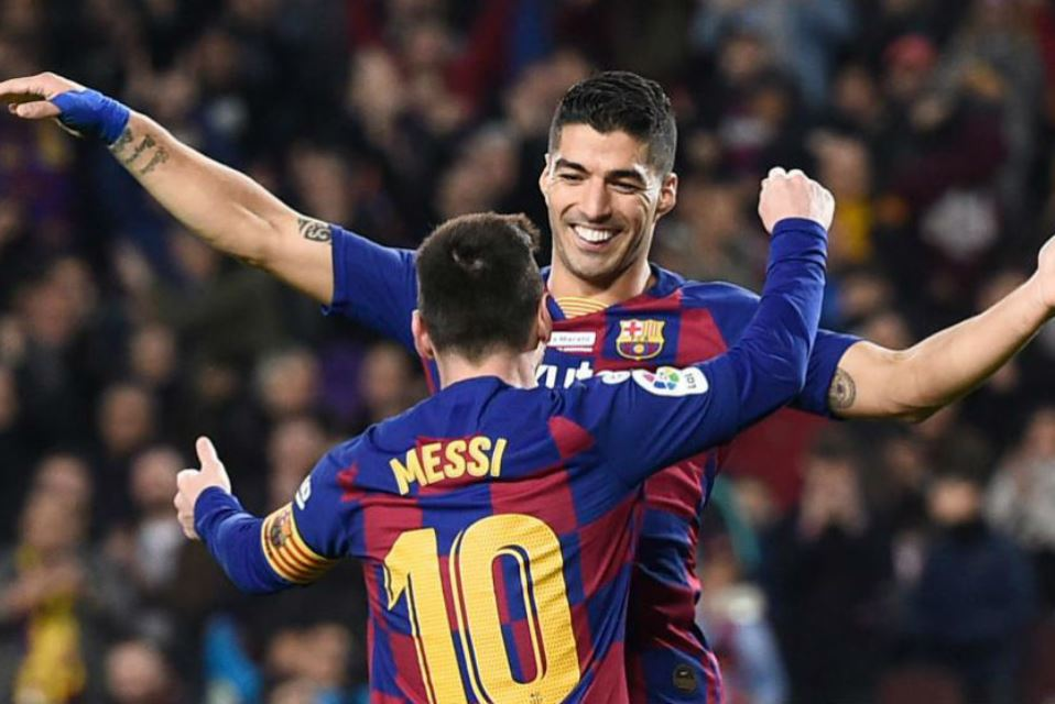 Suarez: Messi Tidak Akan Bermain Satu Tim Lagi Dengannya