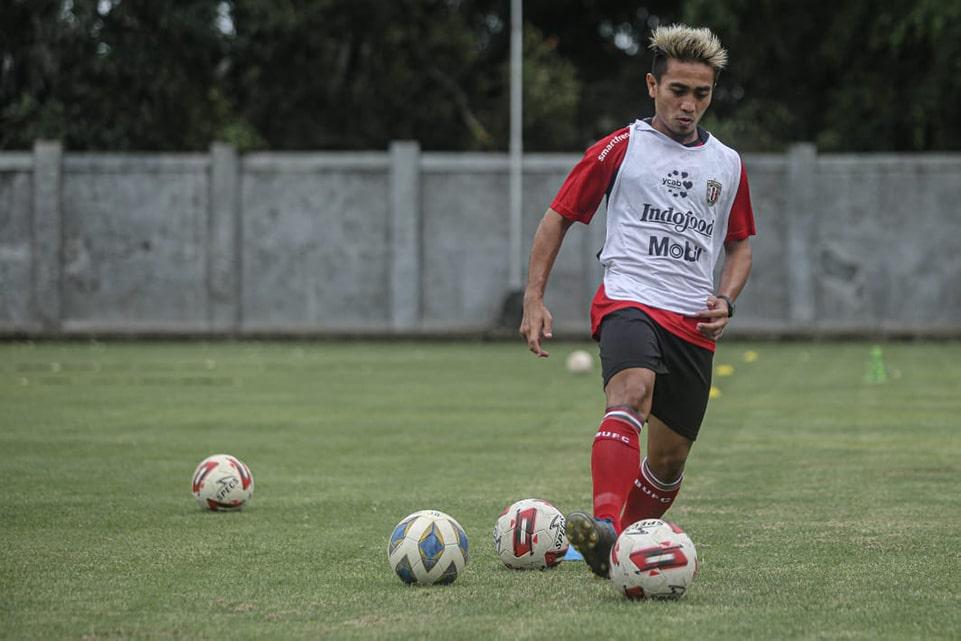 Penggawa Bali United Pasang Target Penuh