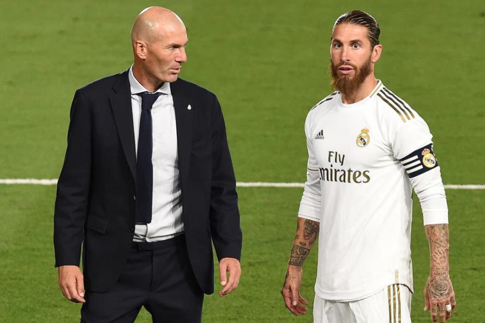 Terkait Cedera dan Kontrak Ramos, Ini Kata Zidane