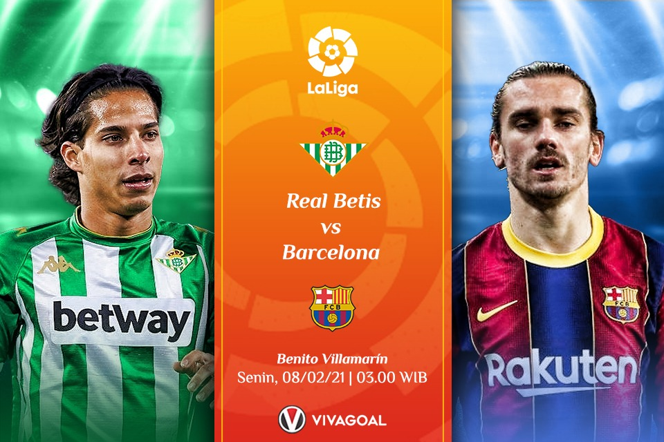 Prediksi Real Betis Vs Barcelona, Misi Berat Curi 3 Angka