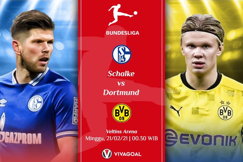 Schalke vs Dortmund: Pembuktian di laga Derby
