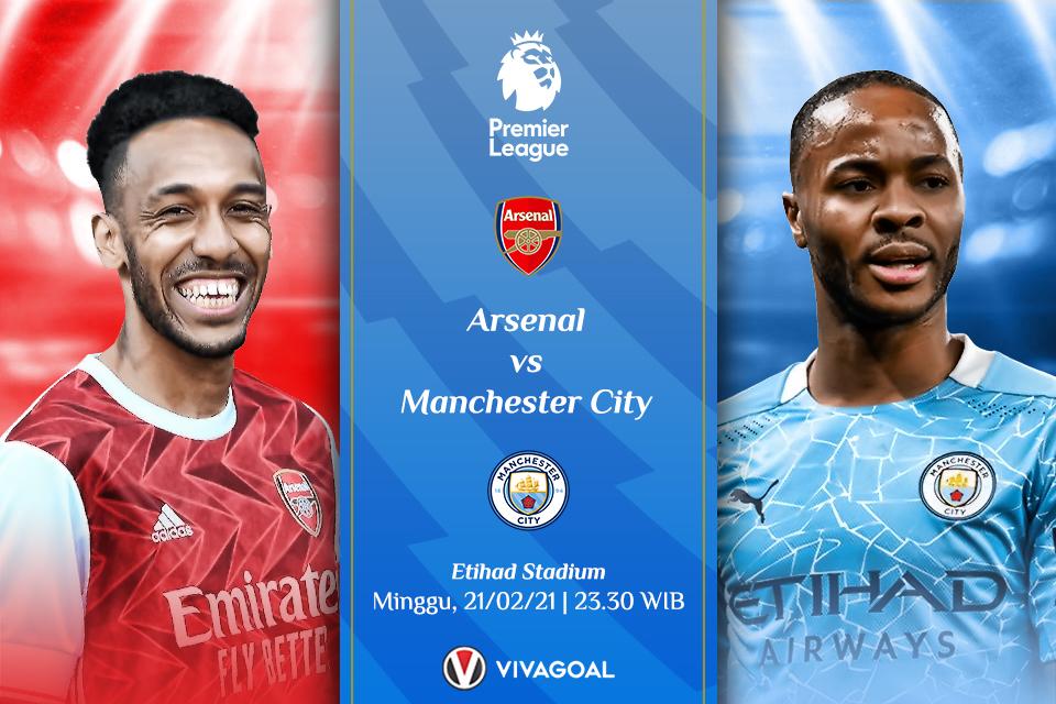 Prediksi Arsenal Vs Man City
