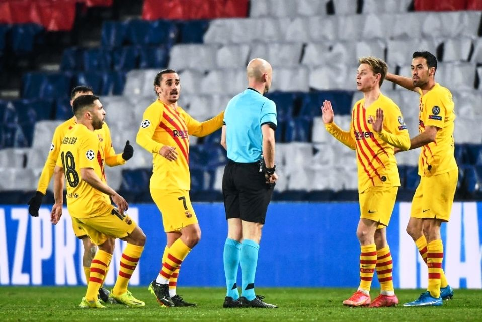 Barcelona vs PSG UCL Leg 2