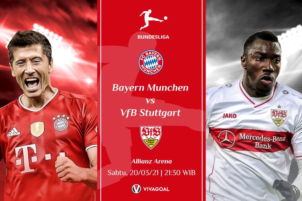 Bayern Vs Stuttgart: Prediksi dan Link Live Streaming