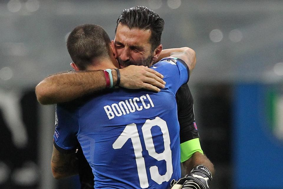 Belum Move On, Bonucci Masih Sulit Lupakan Kegagalan Italia Lolos Piala Dunia 2018