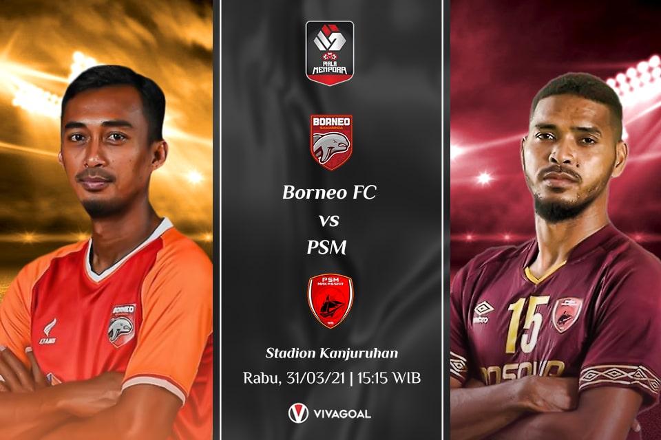 Borneo FC vs PSM Makassar: Prediksi dan Link Live Streaming