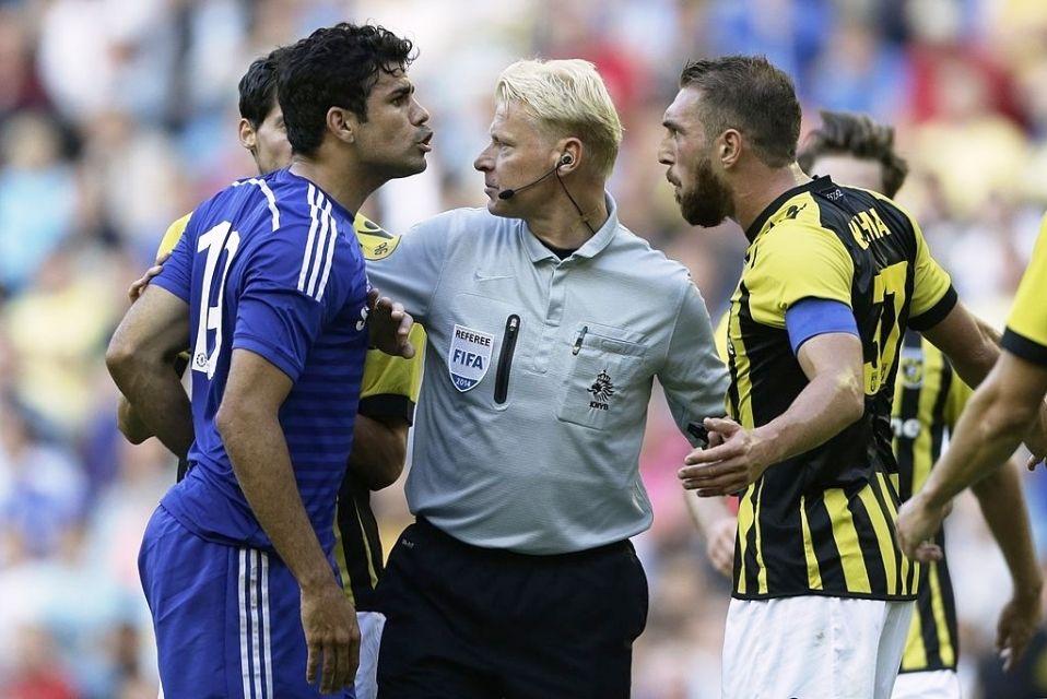 Diego Costa Chelsea vs Vitesse