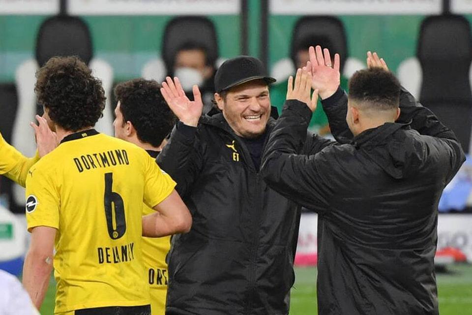 Kalahkan Gladbach, Dortmund kembali Cetak Cleansheet
