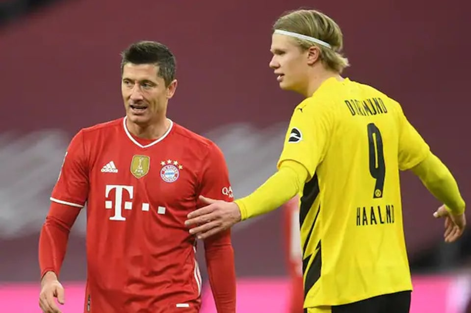 Soal Haaland, Lewandowski: Itu Pertanyaan Untuk Direksi