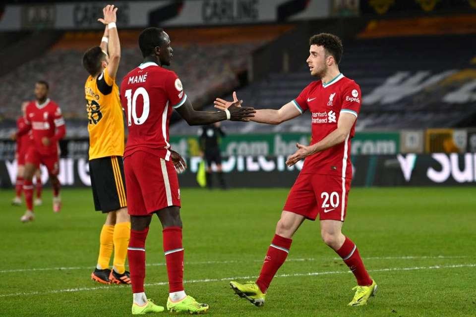 Jadi Pahlawan Kemenangan Atas Wolves, Diogo Jota: Ayo Bangkit, Liverpool!