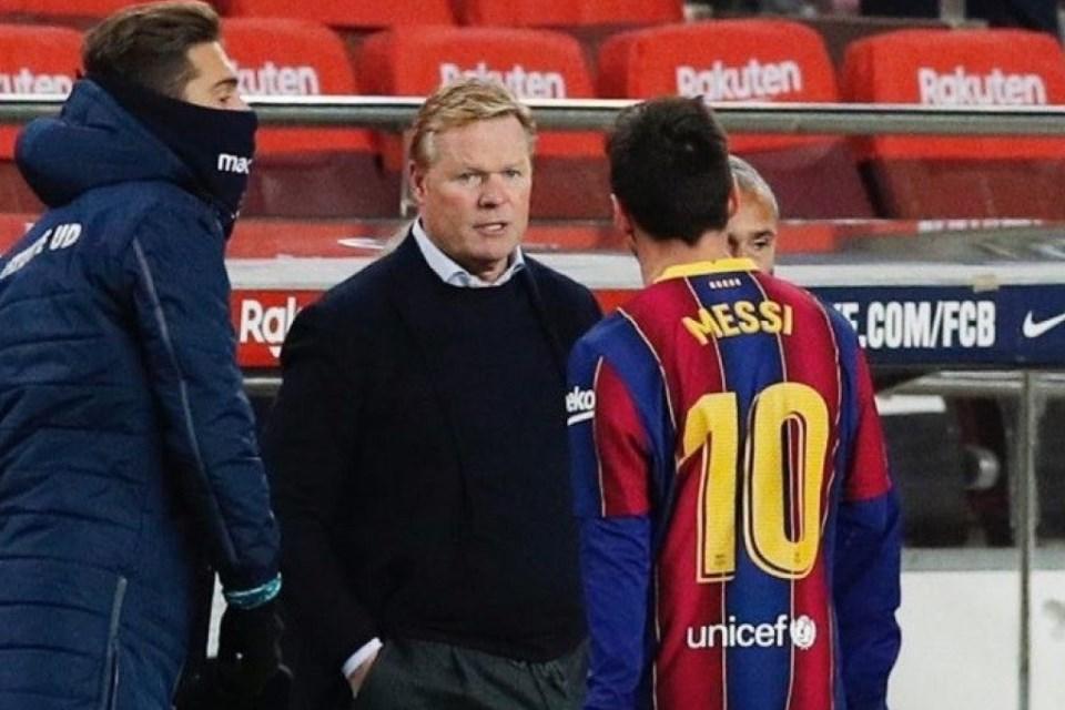 Koeman: Tak Ada Alasan Lionel Messi Ragukan Masa Depan Barcelona