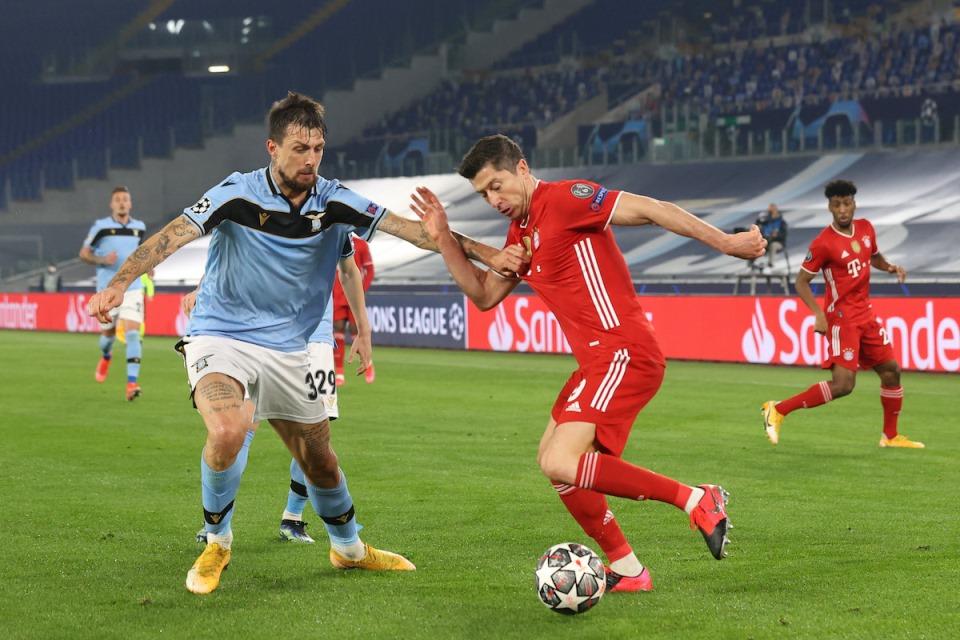Lazio Ketagihan Ingin Terus Tampil Di Liga Champions