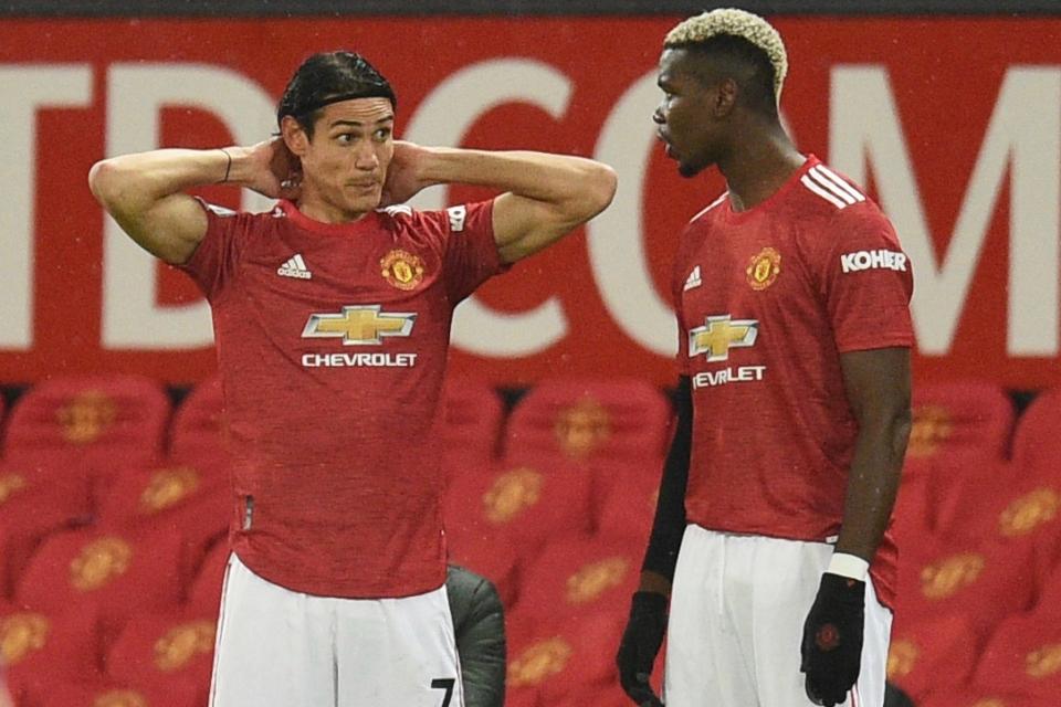 Leicester vs MU: Paul Pogba Masuk Skuad, Cavani Belum Pasti
