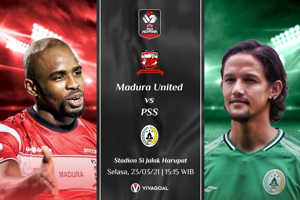 Madura United vs PSS Sleman: Prediksi dan Link Live Streaming