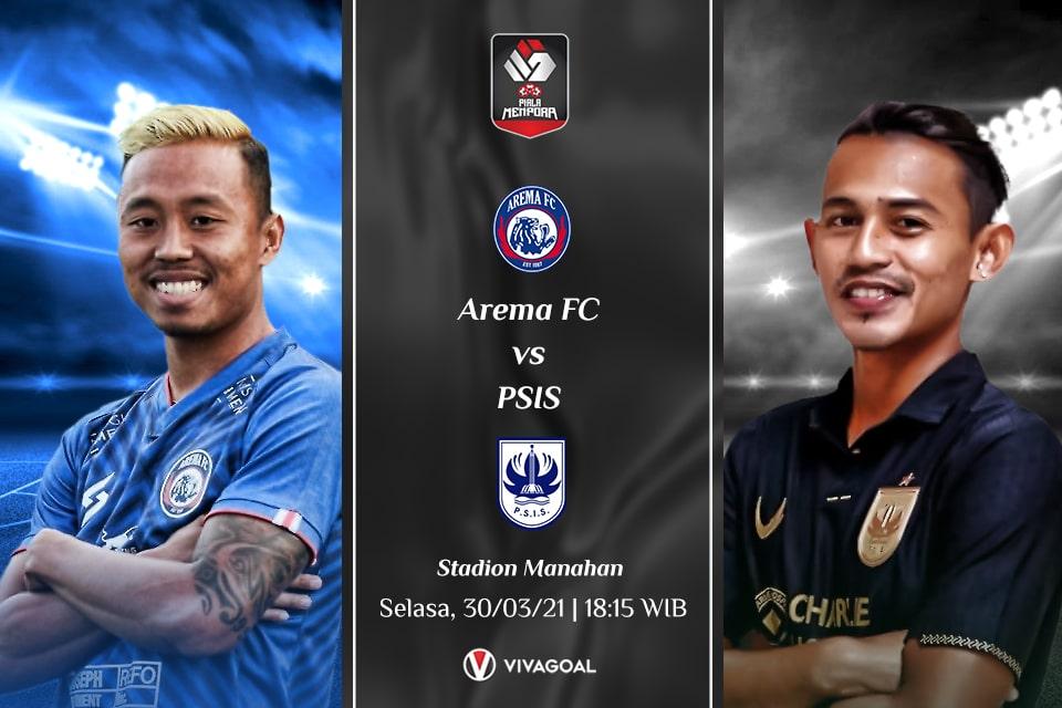 PSIS vs Arema FC : Prediksi dan Link Live Streaming