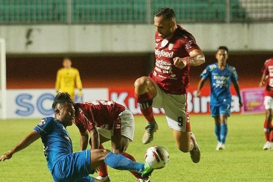 Imbangi Bali United Alberts Puji Anak Asuhnya