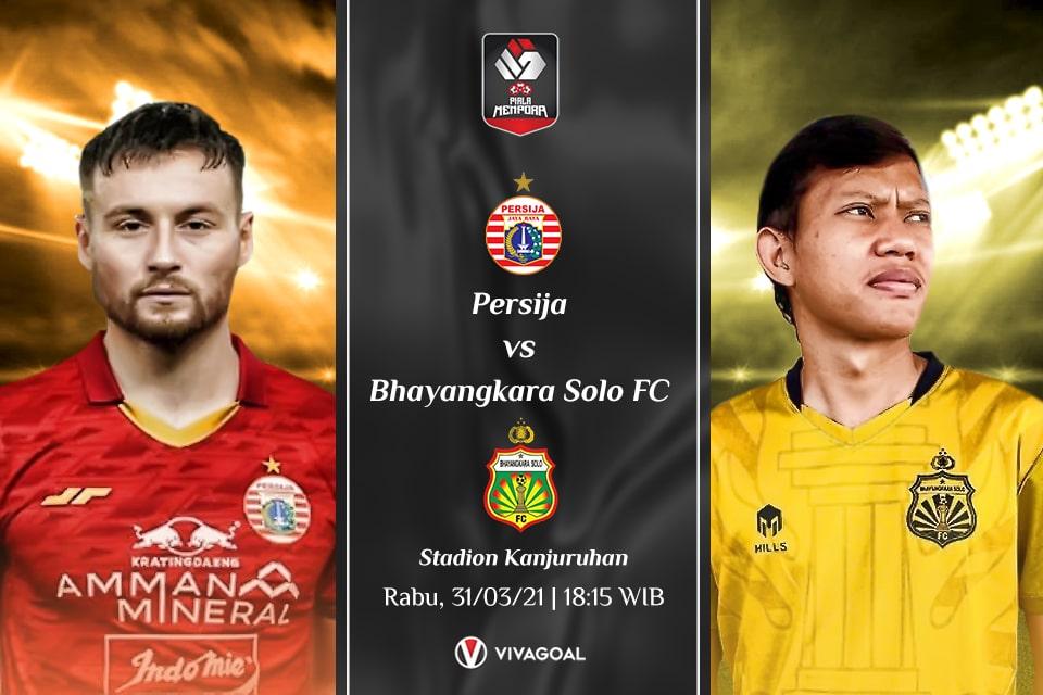 Persija Jakarta vs Bhayangkara FC : Prediksi dan Link Live Streaming