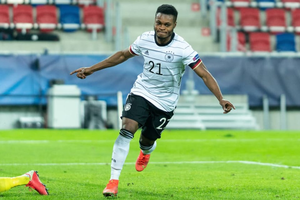Ridle Baku Berikan 2 Gol Untuk Timnas Jerman U21