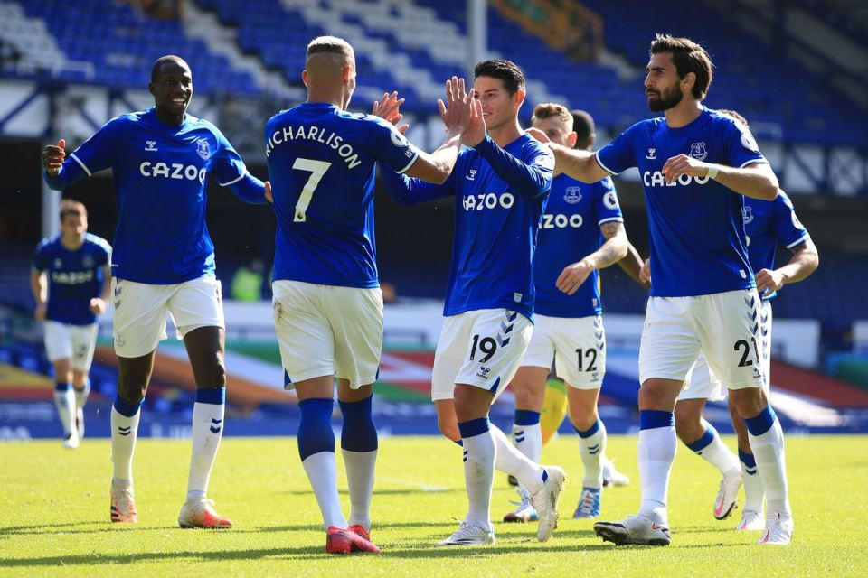Semangat Everton! Kans Finis Di Empat Besar Terbuka Lebar
