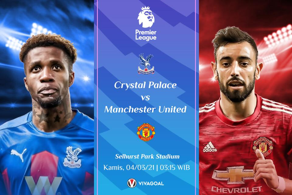 Prediksi Crystal Palace vs MU: Tiga Poin Jadi Milik Setan Merah