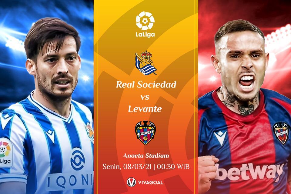 Prediksi Real Sociedad vs Levante, Tim Tamu yang Merepotkan