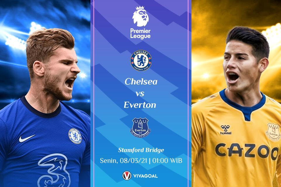 Prediksi Chelsea vs Everton: Menang Jadi Harga Mati Buat Kedua Tim