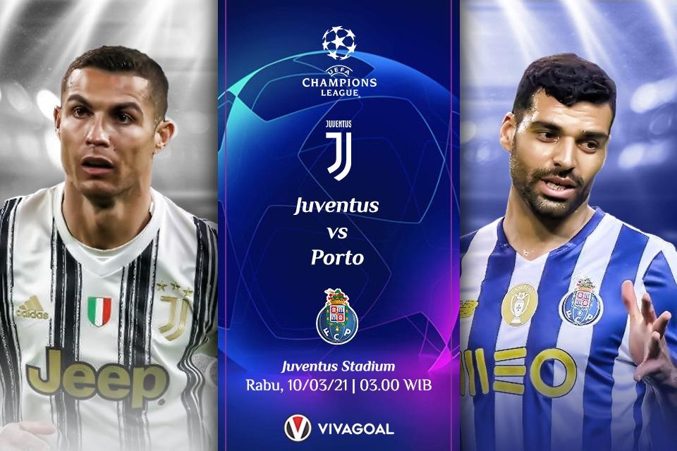 Prediksi Juventus vs Porto: Bianconeri Raja Comeback Di Fase Knockout