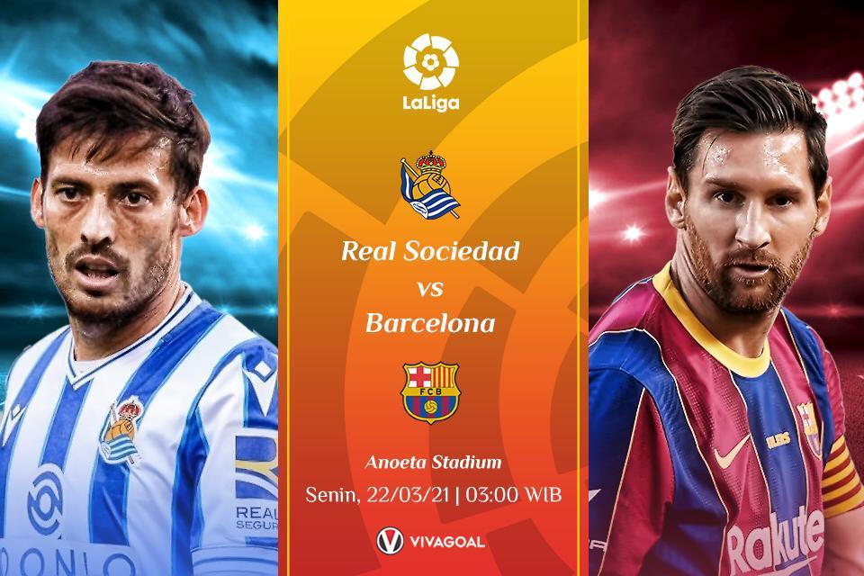 Prediksi Sociedad vs Barcelona: Jago Kandang vs Jago Tandang