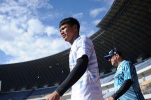 Jelang Piala Menpora, Wajah Lama Persib Hati-Hati dalam Latihan