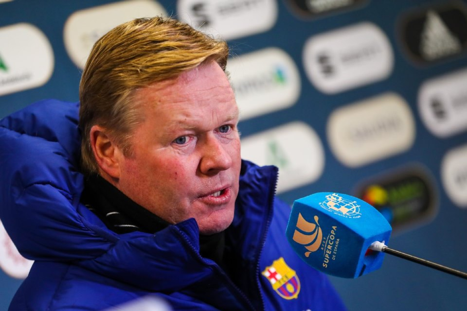 Musim Depan, Barcelona Siap Pertahankan Ronald Koeman?