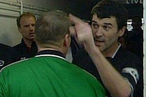 Roy Keane Vs Viera