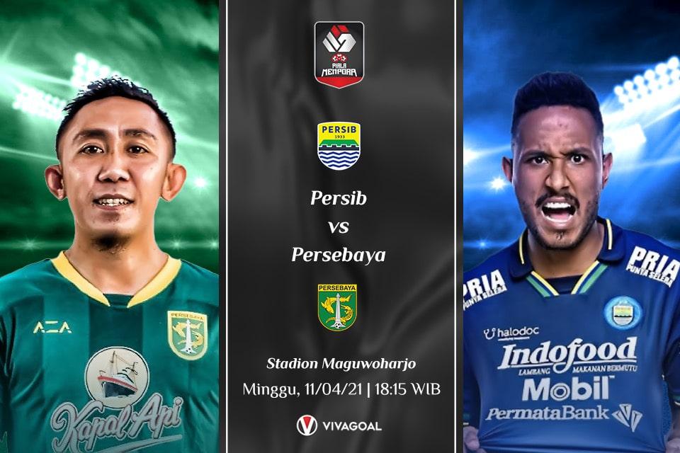 Persib Bandung vs Persebaya Surabaya: Prediksi dan Link Live