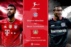 Bayern Munich vs Leverkusen : Prediksi dan Link Live Streaming