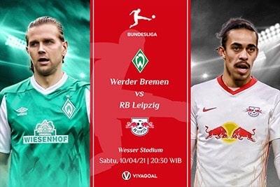 Werder Bremen vs RB Leipzig: Prediksi dan Link Live Streaming