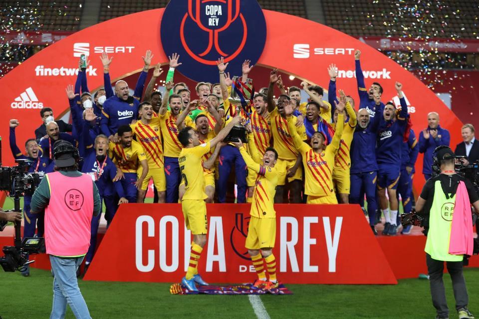 Copa del Rey di Tangan, Barcelona Incar Gelar La Liga